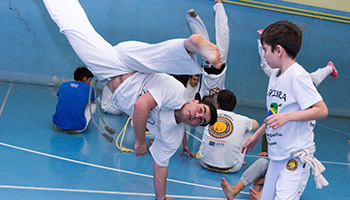 New Year's Roda de Capoeira